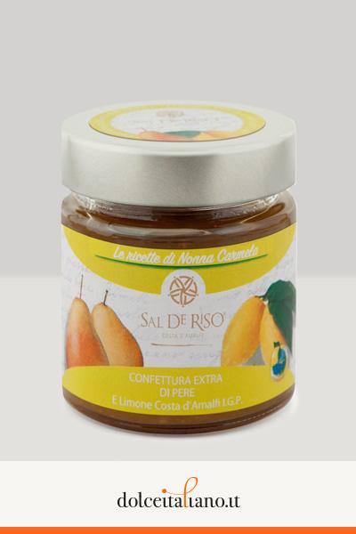 Kit da 4 barattoli assortiti di confetture/marmellate di Sal De Riso