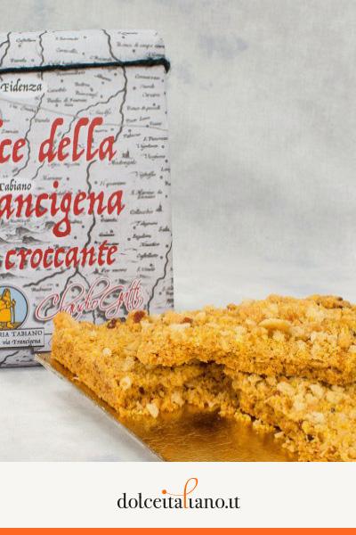 Dolce della Via Francigena - Croccante - di Claudio Gatti kg 0,70