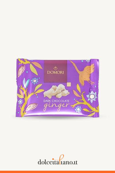 Domori To Go Ginger and dark chocolate bar g 25,00