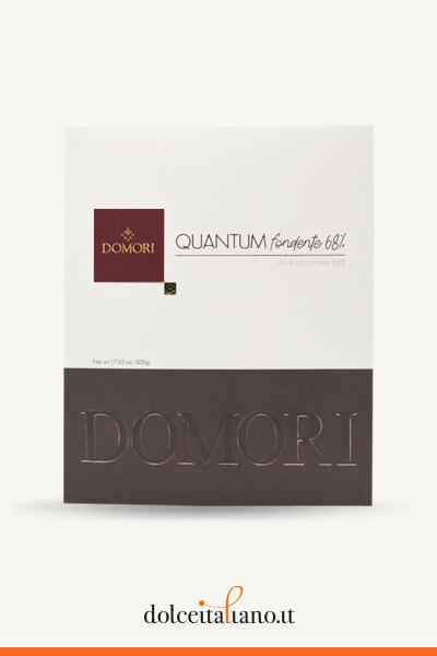 Quantum: maxi dark chocolate Tanzania 68% by Domori g 500,00