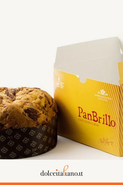 Panbrillo cioccolato e rum di Roberto Cantolacqua kg 0,75