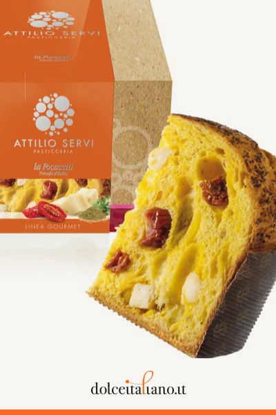 Focaccia d'Italia di Attilio Servi kg 0,75