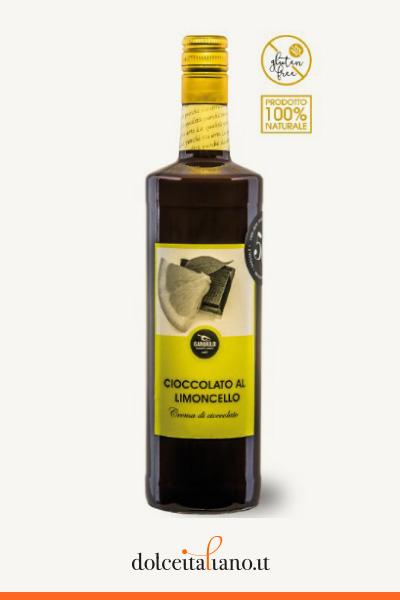 Crema al cioccolato con limoncello di Gargiulo Carlo l 0,50