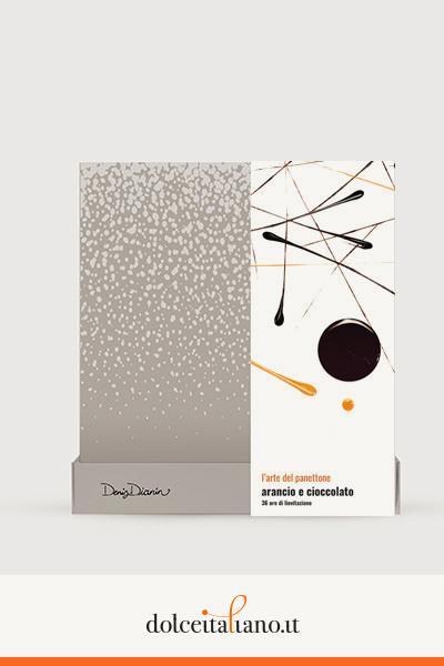 Panettone arancia e cioccolato di Denis Dianin kg 1,00