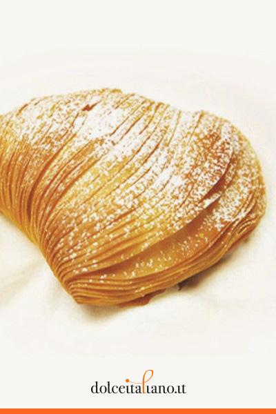 Confezione da 6 pezzi di sfogliatelle ricce di Vincenzo Bellavia kg 0,85