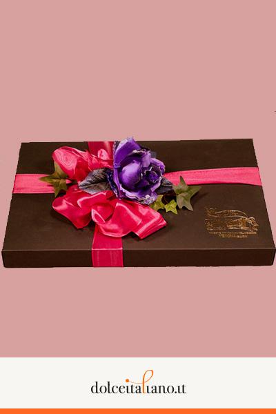 Confezione regalo da 35 pezzi di cioccolatini assortiti di Davide Dall'Omo kg 0,30