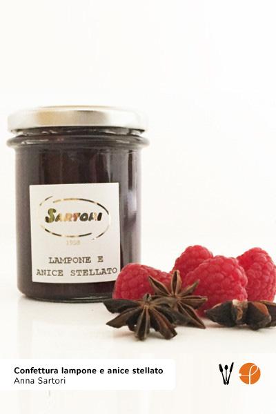 Confettura lampone e anice stellato di Anna Sartori kg 0,20