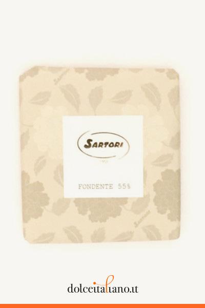 Cioccolato fondente 55% di Anna Sartori kg 0,10