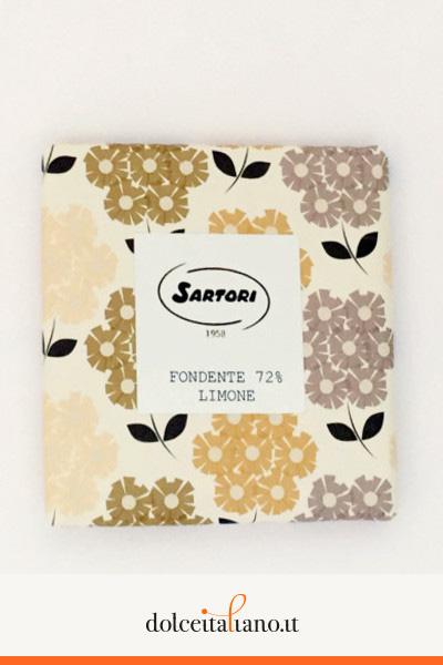 Cioccolato fondente 72% e limone di Anna Sartori kg 0,10