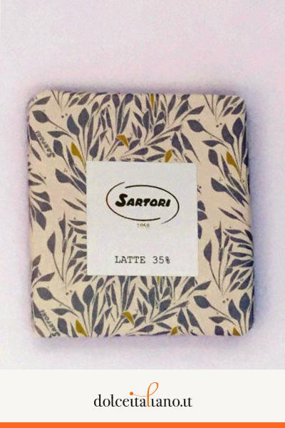 Cioccolato al latte 35% di Anna Sartori kg 0,10
