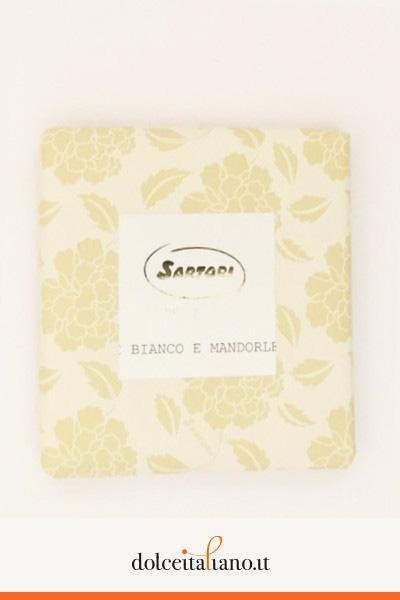 Cioccolato bianco alle mandorle di Anna Sartori kg 0,10