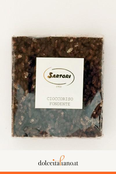 Cioccoriso fondente di Anna Sartori kg 0,10