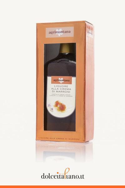 Liquore alla crema di marroni di Agrimontana l 0,70