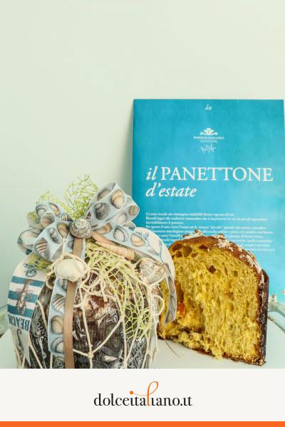 Panettone estivo 2018 di Roberto Cantolacqua kg 0,70