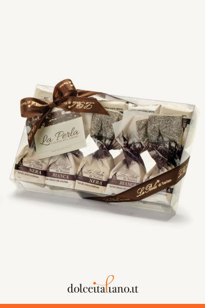 3 Confezioni Regalo Assortite di Tartufi di Cioccolato de La Perla di Torino kg 0,45