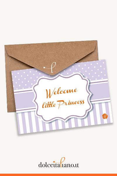 Buono Regalo dolceitaliano.it digitale - Welcome little Princess