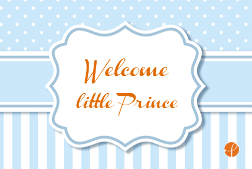 Buono Regalo dolceitaliano.it digitale - Welcome little Prince