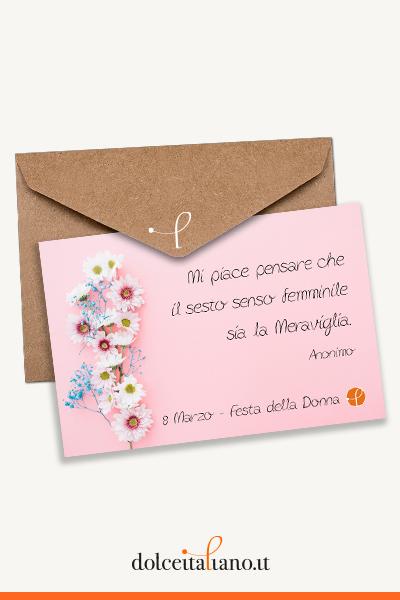 Buono Regalo dolceitaliano.it digitale - Il sesto senso femminile