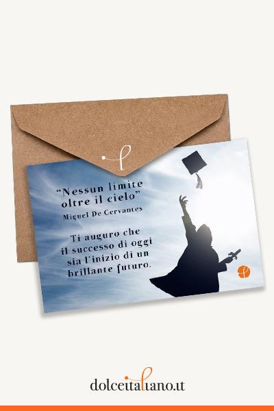 Buono Regalo dolceitaliano.it digitale - Nessun limite oltre il cielo