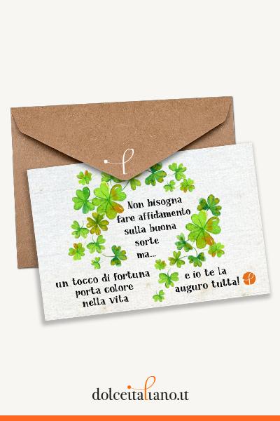 Buono Regalo dolceitaliano.it digitale - La fortuna porta colore nella vita