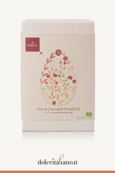 Uovo di cioccolato fondente BIO di Domori kg 0,15
