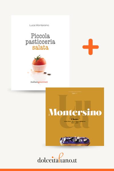 Combo libri: Piccola pasticceria salata + Choux di Luca Montersino