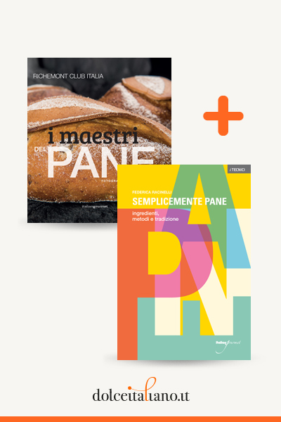 Combo libri: I maestri del pane di Richemont Club + Semplicemente pane di Federica Racinelli