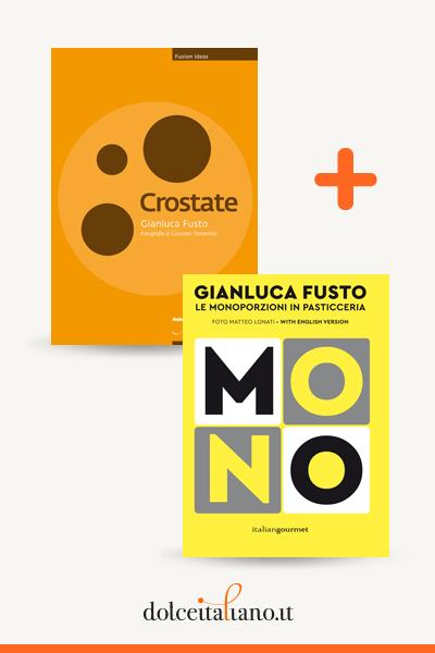 Combo libri: Crostate + Le monoporzioni in pasticceria di Gianluca Fusto