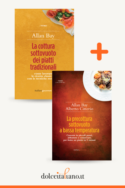 Combo libri: La precottura sottovuoto a bassa temperatura + La cottura sottovuoto dei piatti tradizionali di Alberto Citterio