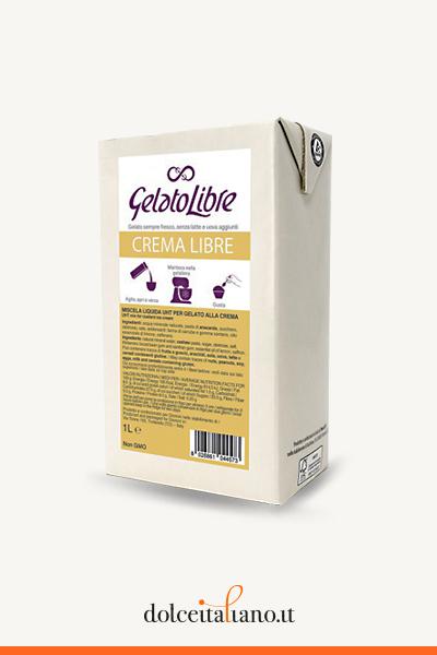 Crema Libre - Ice Cream Libre Brick by Gelato libre