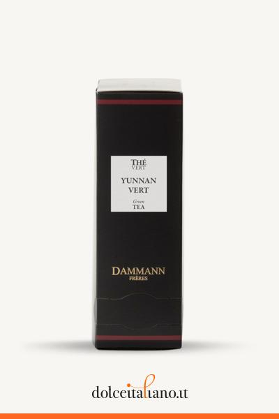 Yunnan Vert 24 sachets cristal di Dammann Frères
