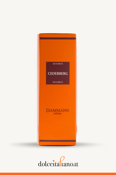 Rooibos Cederberg 24 sachets cristal di Dammann Frères