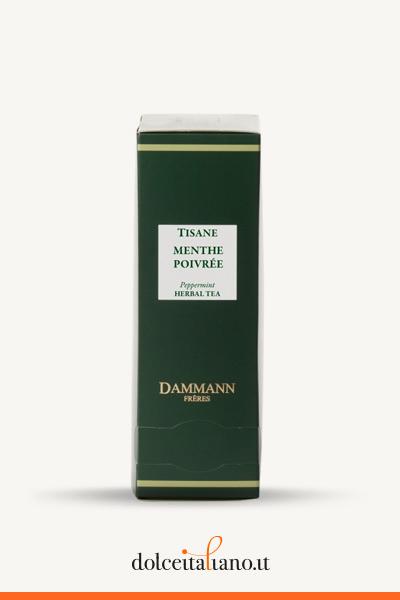 Menta Piperita 24 sachets cristal di Dammann Frères