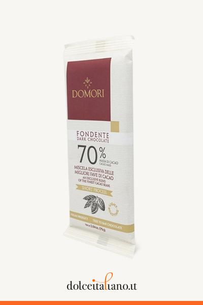 Tavoletta di cioccolato fondente 70% di Domori