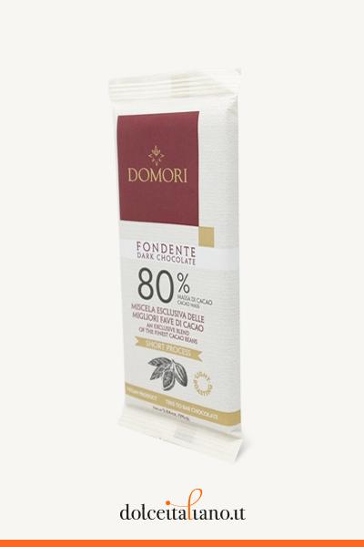 Dark Chocolate Bar 80% by Domori