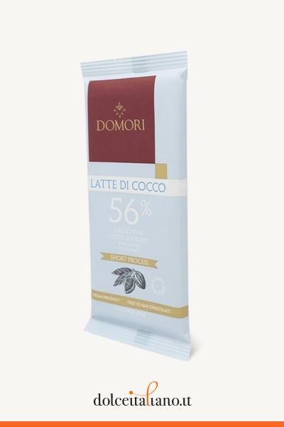 Coconut Milk Chocolate Bar 56% by Domori