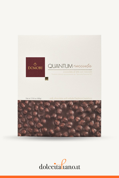 Quantum: Maxi milk chocolate and hazelnuts by Domori