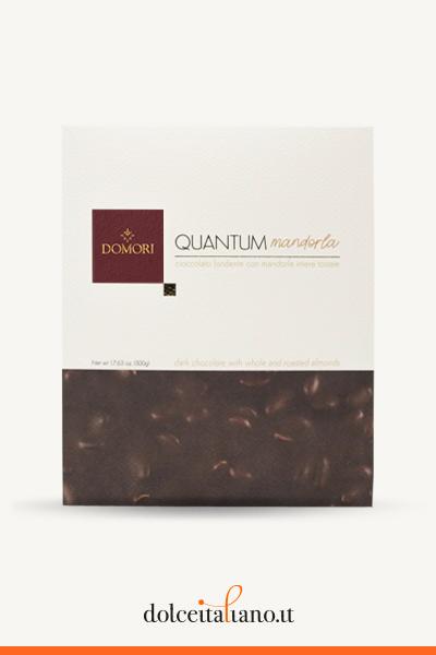 Quantum: maxi dark chocolate and almonds by Domori