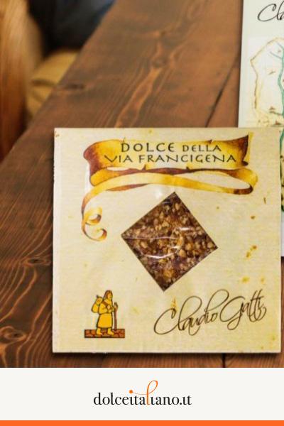 Dolce della Via Francigena - Morbido - di Claudio Gatti