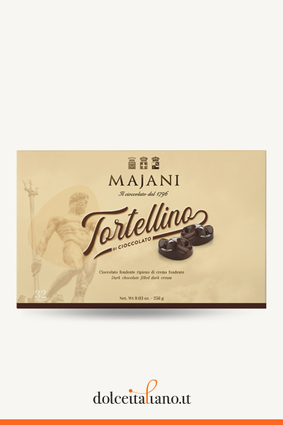 32 Dark chocolate Tortellini by Majani 1796