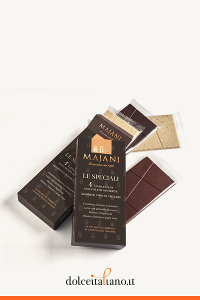 Multipack special chocolate bars by Majani 1796