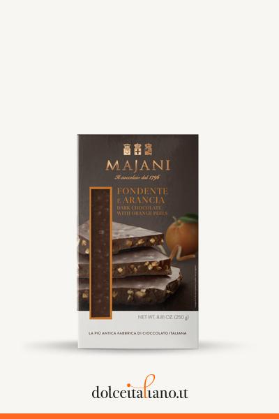 Snap - Dark Chocolate & Orange Big Bar by Majani 1796
