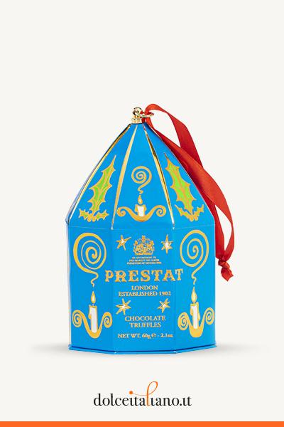 Ciondolo blu Prestat - Tartufi fondenti con caramello al sale marino