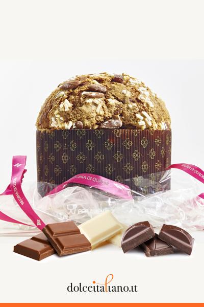 Panettone ai tre cioccolati di Francesco Elmi