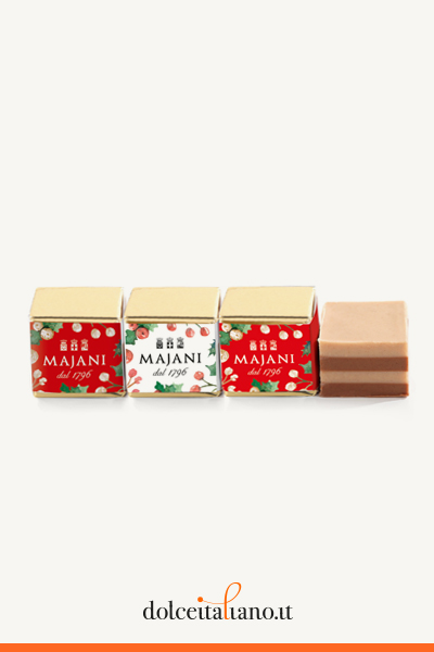 Pack of 100 Four-layers Christmas Cremino by Majani 1796