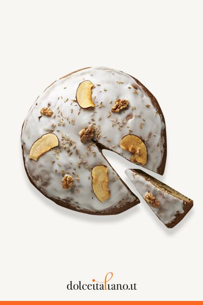 Focaccia SETTANTA9 DC con mele candite, noci, fichi e olive di Salvatore Gabbiano