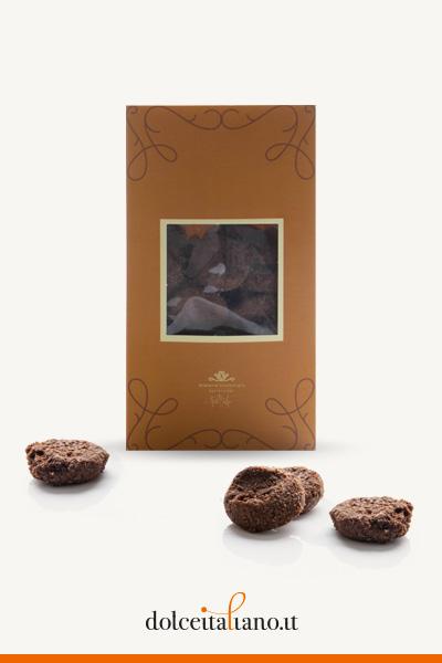 Sablé cioccolato e sale di Roberto Cantolacqua