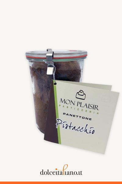 Panettone al Pistacchio in Vasocottura di Mon Plaisir