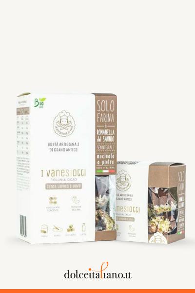 Vanesiotti al cacao de La Biscotteria di Anna