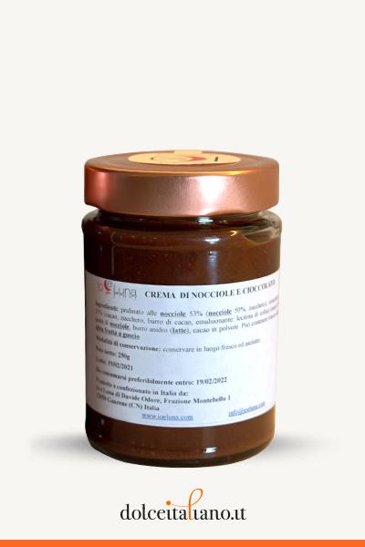 Crema Nocciole e Cioccolato di Davide Odore